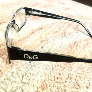 Dolce and Gabbana black glasses